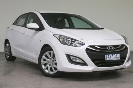 2014 Hyundai i30 GD2 Active White 6 Speed Sports Automatic Hatchback