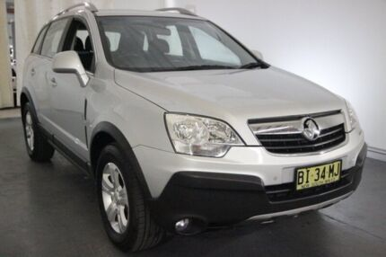 2010 Holden Captiva CG MY10 5 Silver 5 Speed Manual Wagon Maryville Newcastle Area Preview