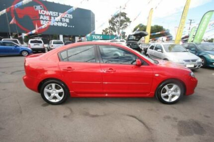 2006 Mazda 3 BK10F1 Maxx Sport Red 5 Speed Manual Sedan Kingsville Maribyrnong Area Preview