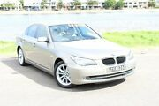 2009 BMW 530D E60 MY08 Steptronic Gold 6 Speed Sports Automatic Sedan Hamilton East Newcastle Area Preview