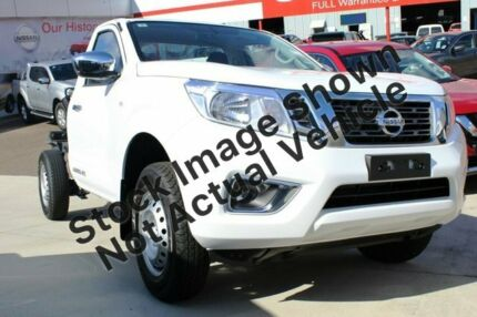 2019 Nissan Navara D23 S3 RX 4x2 White 6 Speed Manual Cab Chassis Pennant Hills Hornsby Area Preview