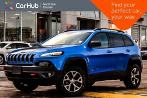 2018 Jeep Cherokee Trailhawk Leather+|Nav|Keyless_Go|R_Start|Hea