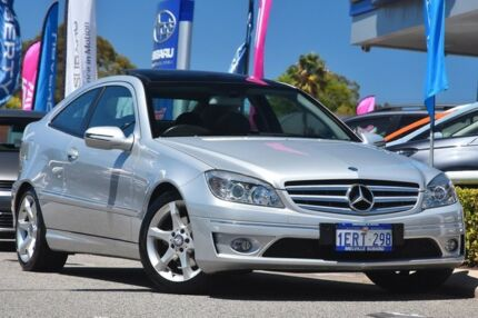 2010 Mercedes-Benz CLC200 Kompressor CL203 Silver 5 Speed Automatic Coupe