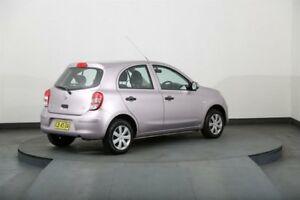 2011 Nissan Micra K13 ST Pink 4 Speed Automatic Hatchback