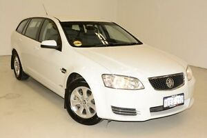 2013 Holden Commodore VE II MY12.5 Omega Sportwagon White 6 Speed Sports Automatic Wagon Edgewater Joondalup Area Preview