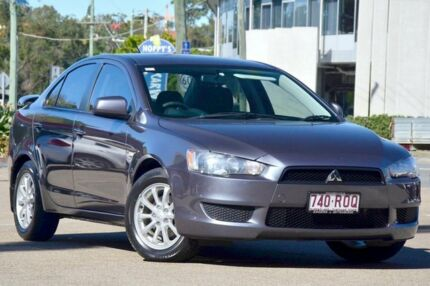 2010 Mitsubishi Lancer CJ MY11 SX Effect Grey 5 Speed Manual Sedan Toowong Brisbane North West Preview