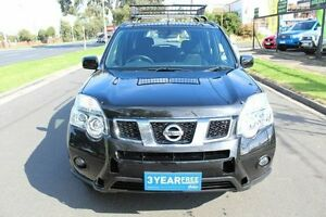 2012 Nissan X-Trail T31 Series IV ST 2WD Black 1 Speed Constant Variable Wagon West Footscray Maribyrnong Area Preview