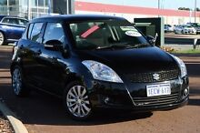 2012 Suzuki Swift FZ GLX Black 4 Speed Automatic Hatchback East Rockingham Rockingham Area Preview