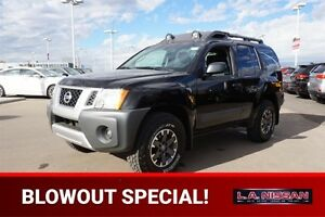 2014 Nissan Xterra 4X4 PRO-4X Navigation (GPS),  Leather,  Heate