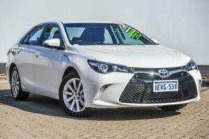 2015 Toyota Camry AVV50R Atara S White 1 Speed Constant Variable Sedan Hybrid Morley Bayswater Area Preview