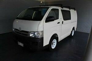 2008 Toyota Hiace TRH201R MY08 LWB White 4 Speed Automatic Van Parramatta Park Cairns City Preview