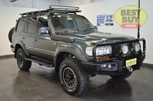 1992 Toyota Landcruiser Sahara Green Automatic Wagon Lansvale Liverpool Area Preview