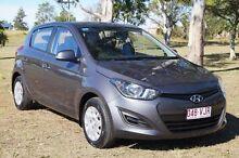 2014 Hyundai i20 PB MY14 Active Star Dust 4 Speed Automatic Hatchback Bundaberg West Bundaberg City Preview