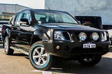 2012 Nissan Navara D40 S6 MY12 ST Black 6 Speed Manual Utility Osborne Park Stirling Area Preview