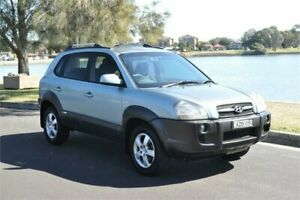 2006 Hyundai Tucson Green 4 Speed Auto Selectronic Wagon Five Dock Canada Bay Area Preview