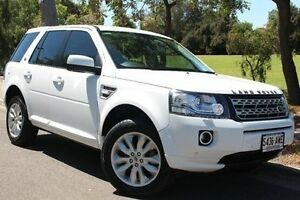 2013 Land Rover Freelander 2 LF MY13 Td4 SE White 6 Speed Sports Automatic Wagon Thebarton West Torrens Area Preview