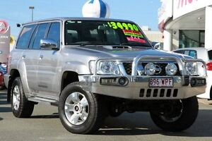 2012 Nissan Patrol GU 7 MY10 ST Silver 5 Speed Manual Wagon Springwood Logan Area Preview
