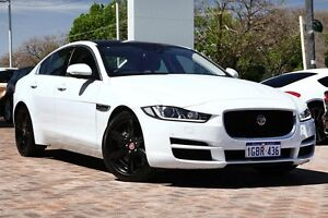 2015 Jaguar XE X760 MY16 20D Prestige White 8 Speed Sports Automatic Sedan Osborne Park Stirling Area Preview
