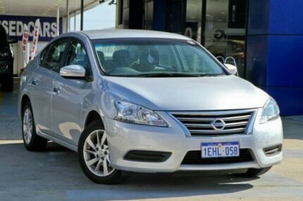 2013 Nissan Pulsar B17 ST Silver 1 Speed Constant Variable Sedan Myaree Melville Area Preview
