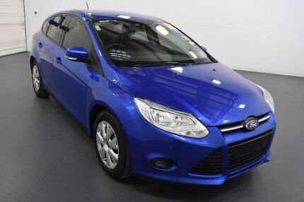 2012 Ford Focus LW Ambiente Blue 6 Speed Automatic Hatchback Moorabbin Kingston Area Preview