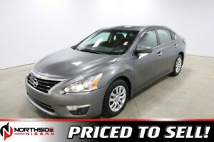 2015 Nissan Altima S Back-up Cam,  Bluetooth,
