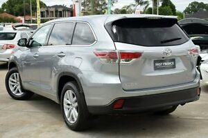 2015 Toyota Kluger GSU50R GX (4x2) Silver Sky 6 Speed Automatic Wagon Old Guildford Fairfield Area Preview