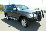 2006 Toyota Landcruiser HDJ100R GXL Grey 5 Speed Automatic Wagon South Gladstone Gladstone City Preview