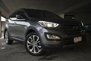 2012 Hyundai Santa Fe DM MY13 Highlander Grey 6 Speed Sports Automatic Wagon Nunawading Whitehorse Area Preview