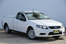 2011 Ford Falcon FG Ute Super Cab White 6 Speed Sports Automatic Utility Blacktown Blacktown Area Preview