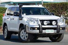 2012 Toyota Landcruiser Prado KDJ150R GX Glacier White 5 Speed Sports Automatic Wagon Acacia Ridge Brisbane South West Preview