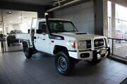 2008 Toyota Landcruiser VDJ79R Workmate (4x4) French Vanilla 5 Speed Manual Cab Chassis Thornleigh Hornsby Area Preview