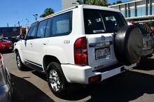 2006 Nissan Patrol GU IV MY05 ST White 4 Speed Automatic Wagon Main Beach Gold Coast City Preview