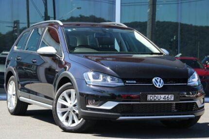 2016 Volkswagen Golf VII MY16 Alltrack DSG 4MOTION 132TSI Black 6 Speed Sports Automatic Dual Clutch