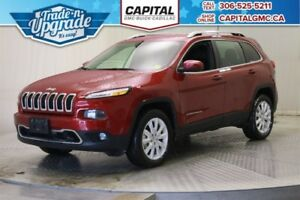 2017 Jeep Cherokee Limited 4WD*Leather-Navigation*