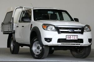2009 Ford Ranger PK XL (4x4) White 5 Speed Automatic Dual Cab Chassis Coopers Plains Brisbane South West Preview