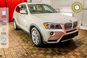 2014 BMW X3 LUXURY LEATHER! BACKUP CAM! HEATED SEATS!