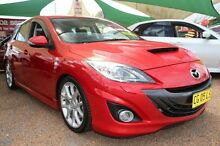 2012 Mazda 3 BL 11 Upgrade MPS Red 6 Speed Manual Hatchback Minchinbury Blacktown Area Preview