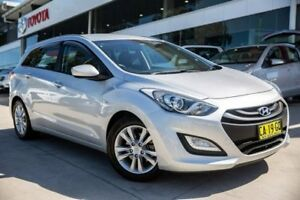 2014 Hyundai i30 GD Active Tourer Silver 6 Speed Sports Automatic Wagon
