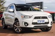 2015 Mitsubishi ASX XB MY15 XLS 2WD White 6 Speed Constant Variable Wagon East Rockingham Rockingham Area Preview