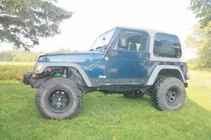 2003 Jeep TJ Perfect Build from frame up $$$$$$$$ spent on this.