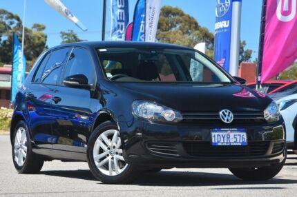 2012 Volkswagen Golf VI MY12.5 118TSI DSG Comfortline Black/Grey 7 Speed