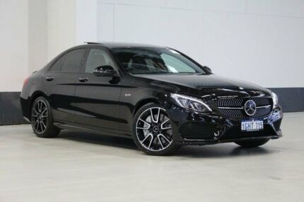 2016 Mercedes-Benz C43 W205 807MY AMG 9G-TRONIC 4MATIC Black 9 Speed Sports Automatic Sedan Bentley Canning Area Preview