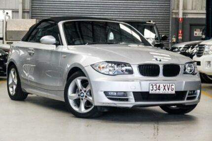 2009 BMW 120i E88 Convertible 2dr Auto 6sp 2.0i [MY10] Silver Automatic Convertible