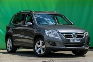2010 Volkswagen Tiguan 5N MY10 125TSI 4MOTION Grey 6 Speed Sports Automatic Wagon Ringwood East Maroondah Area Preview