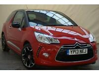 2013 Citroen DS3 1.6 E-HDI DSTYLE PLUS 3d 90 BHP Diesel red Manual