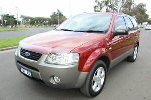 2005 Ford Territory SX TS Maroon 4 Speed Sports Automatic Wagon