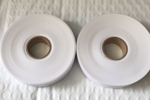 MONARCH 1131 WHITE LABELS *2 ROLLS (5,000 LABELS) *FREE FREIGHT*USA MADE*