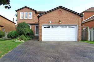 Detached 4 Bdrms House  For Rent/Lease in Markham