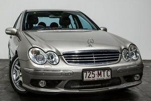 2005 Mercedes-Benz C55 W203 MY2006 AMG Cubanite Silver 5 Speed Sports Automatic Sedan Rozelle Leichhardt Area Preview