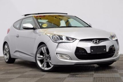 hyundai veloster silver. 2014 hyundai veloster fs2 coupe dct silver 6 speed sports automatic dual clutch hatchback n
